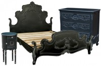 Antique Noir Furniture