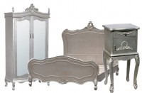 Silver Antique Shabby Chic Furniture