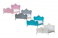 Coloured Shabby Chic Beds