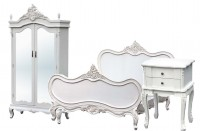Antique White Rococo Furniture