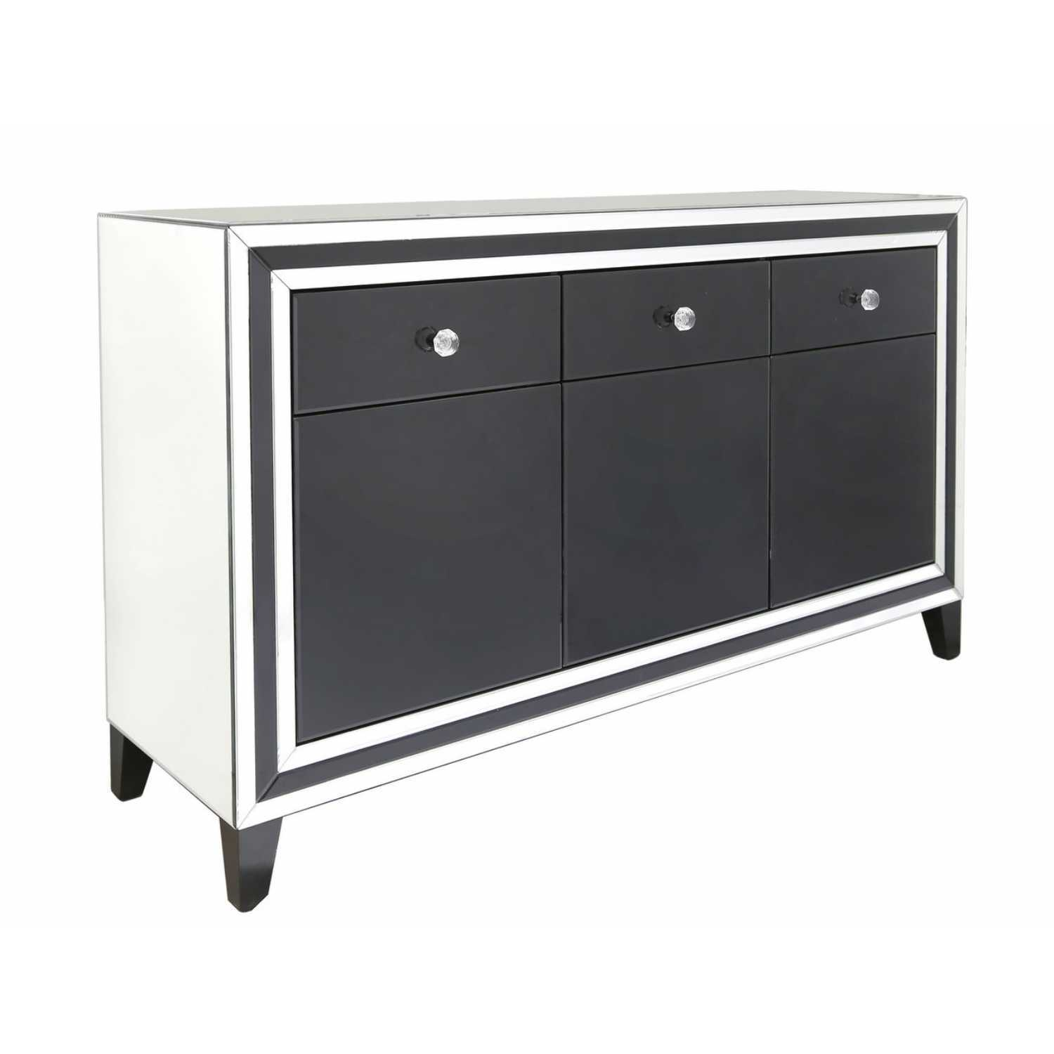 laminate makeover after stand table dresser ideas small color drawers painted tv with black furniture drawer white