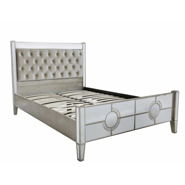 MRF159-00-MR-New-Deco-5ft-King-Size-Mirrored-Antique-Glass-Bed-Frame