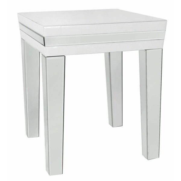 MRF283-00-WHCL-White-London-Glass-Mirror-End-Table