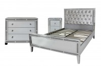 Crystal Diamond Mirrored Furniture