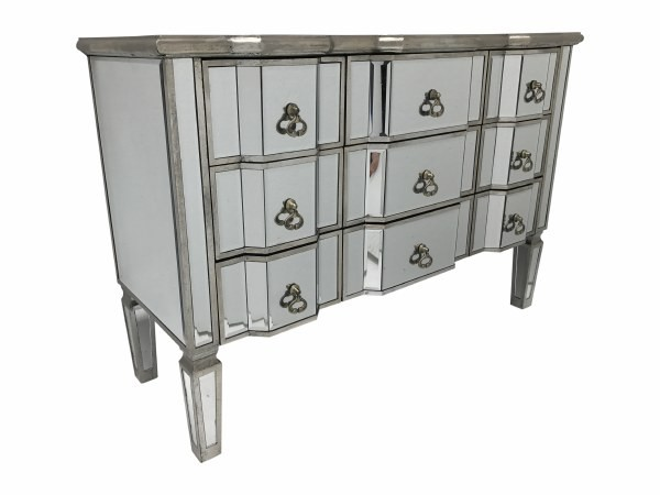 Veian French Style Mirrored Chest