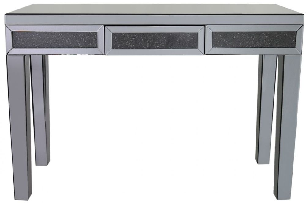 console drawer belfry collection drawers interiors hill with mirrored table