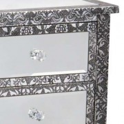 Mirror Chaandhi Kar chest of six Drawers