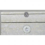 GW1195-00-ASV-Antique-Silver-Faux-Snakeskin-2-Drawer-Jewellery-Box-with-Mirror-4