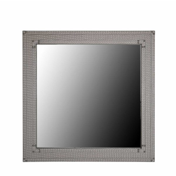 MR184-00-LTP-Modern-Square-Light-Taupe-Faux-Weave-Leather-Wall-Mirror