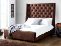 Faux leather Beds
