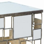 CMT015-Gin-Shu-Tables-Gin-Shu-Parisienne-Metal-Side-Table-with-Glass-Top-1