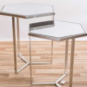 CMT042-SL-Hexagonal-Gin-Shu-Silver-Gilt-Leaf-Parisienne-Metal-Nest-Of-Tables-1