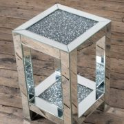 VDC-OT-1S-01-Modern-Mirrored-Venetian-Glass-Crushed-Diamond-Small-Table-With-Shelf-4