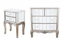 Gunmetal Annabelle Mirrored Furniture