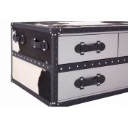 5501106-Fifty-Five-South-Black-White-Large-Cowhide-Stainless-Steel-3-Drawer-Coffee-Table-Trunk-4