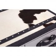 5501106-Fifty-Five-South-Black-White-Large-Cowhide-Stainless-Steel-3-Drawer-Coffee-Table-Trunk-5