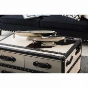 5501106-Fifty-Five-South-Black-White-Large-Cowhide-Stainless-Steel-3-Drawer-Coffee-Table-Trunk-6