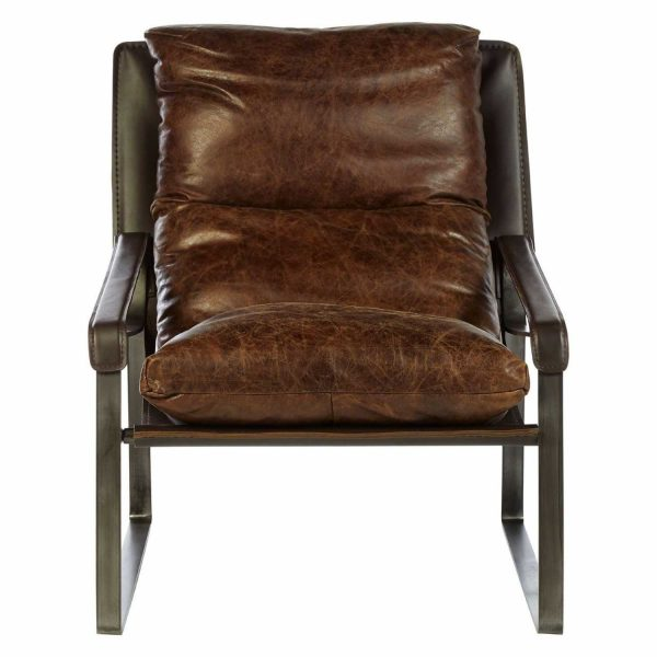 5502202-Fifty-Five-South-Industrial-Hoxton-Genuine-Brown-Leather-Lounge-Chair-with-Angular-Legs