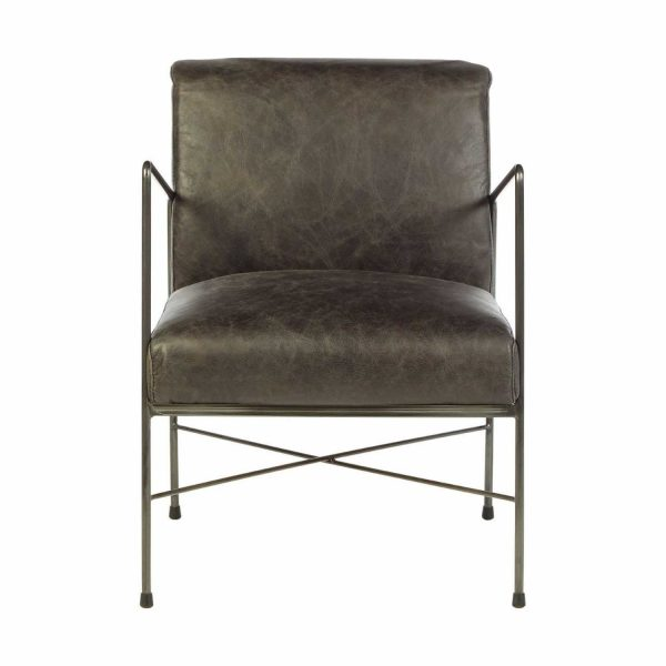 5502209-Fifty-Five-South-Industrial-Style-Hoxton-Genuine-Ebony-Leather-Dining-Chair-Iron-Legs