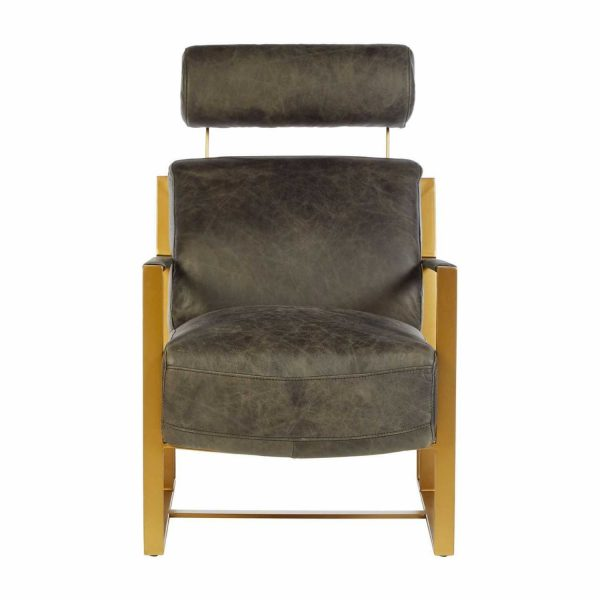 5502212-Fifty-Five-South-Industrial-Hoxton-Ebony-Leather-Gold-Iron-Angular-Legs-Lounge-Chair
