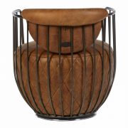 5502324-Hoxton-Barrel-Shaped-Light-Brown-Leather-Iron-Swivel-Cocktail-Chair-3