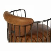 5502324-Hoxton-Barrel-Shaped-Light-Brown-Leather-Iron-Swivel-Cocktail-Chair-5