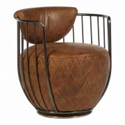 5502324-Hoxton-Barrel-Shaped-Light-Brown-Leather-Iron-Swivel-Cocktail-Chair-6