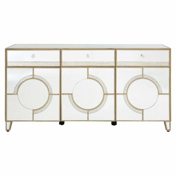 Modern-Knightsbridge-Silver-Mirrored-Glass-3-Drawer-Sideboard-Cabinet