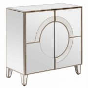 5501096-Fifty-Five-South-Kensington-Townhouse-Pine-Wood-Small-Mirrored-Silver-2-Door-Cabinet-1