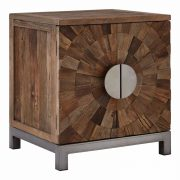 5502402-Fifty-Five-South-Midas-Small-Low-Elm-Wood-Silver-Iron-Framed-2-Door-Cabinet-Cupboard-8