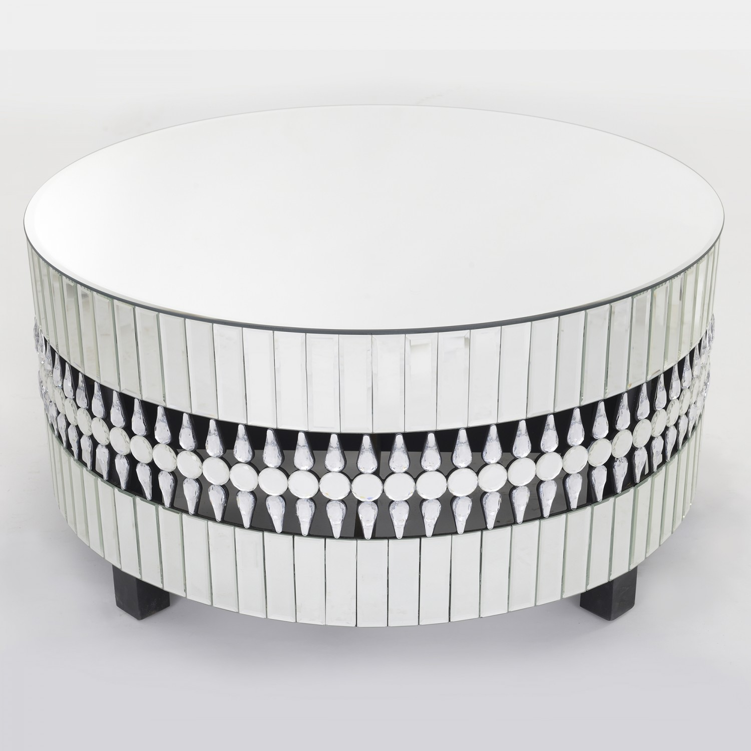 Apollo Crystal Mirrored Coffee Table